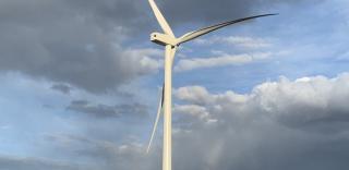 Parque eolico Vientos Los Hercules en Argentina