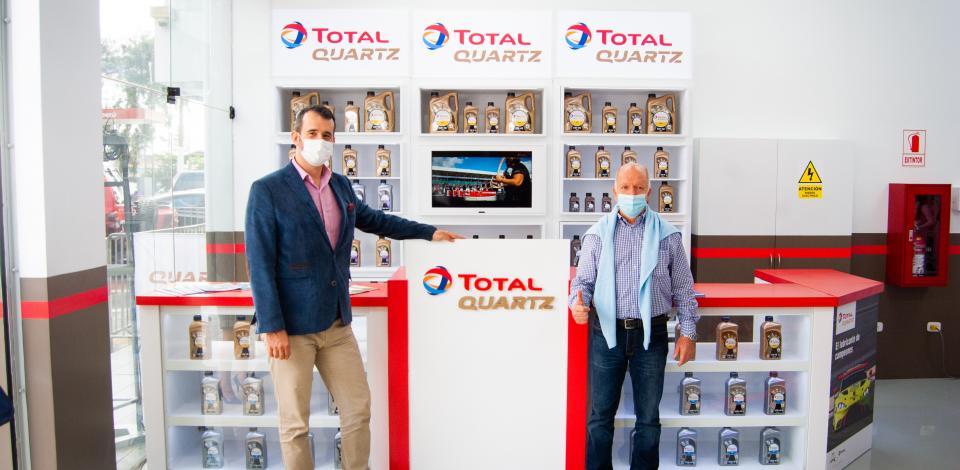 TotalEnergies inaugura primer Lubricentro Premium en el Perú